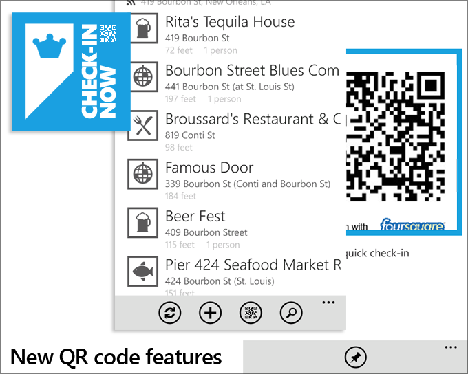 New QR Code Features